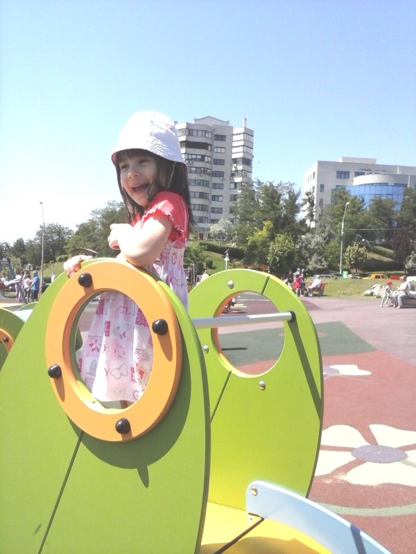 Irina la joaca