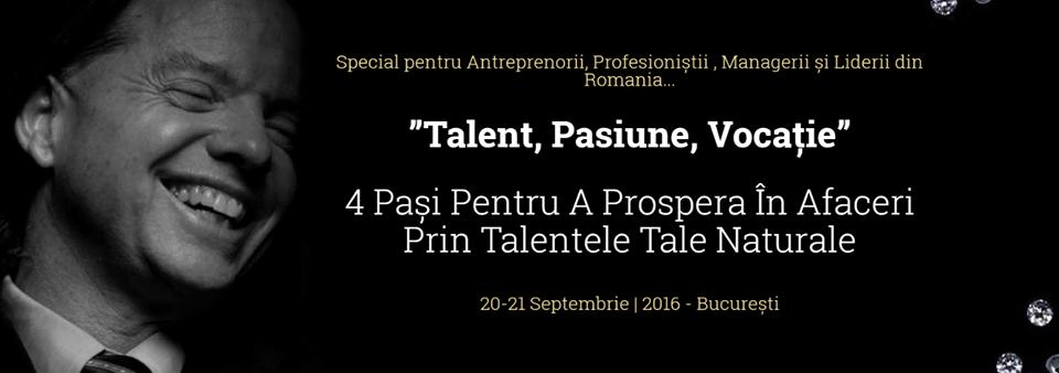 Talent, pasiune, vocatie